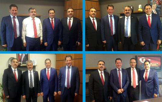 Birlik Haber-Sen'den Milletvekillerine Hayırlı Olsun Ziyareti