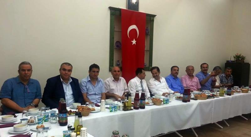 İstanbul Avrupa Yakası 15 No'lu Şube Üyeleri İftarda Buluştu