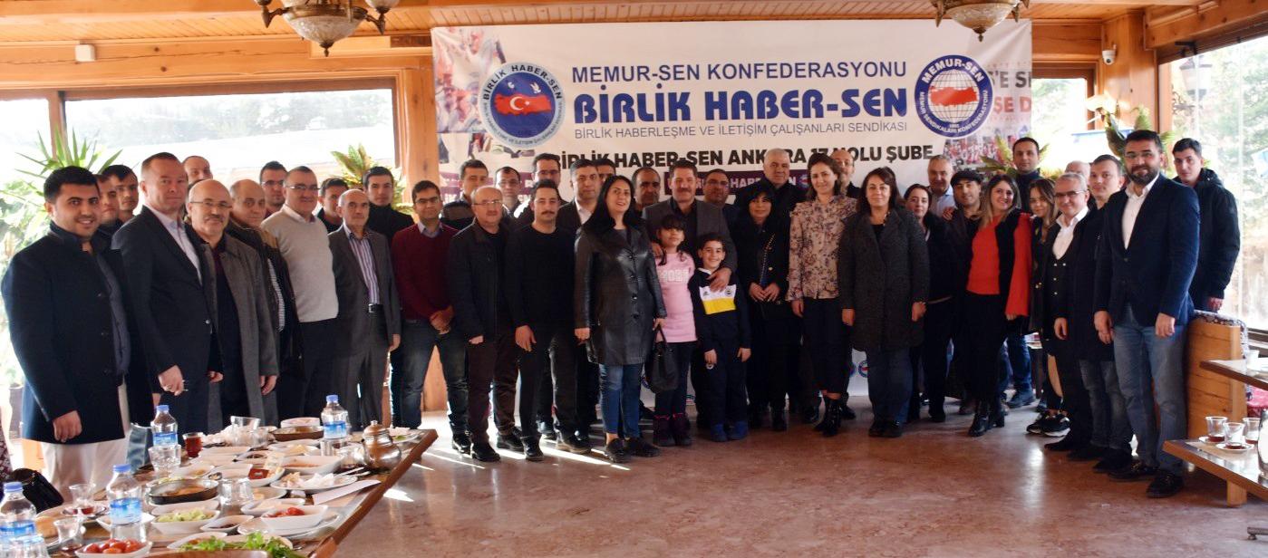 """Ankara 17 Nolu Şube """"Geleneksel Kahvaltı ve İstişare Toplantısı"""" Düzenledi"""