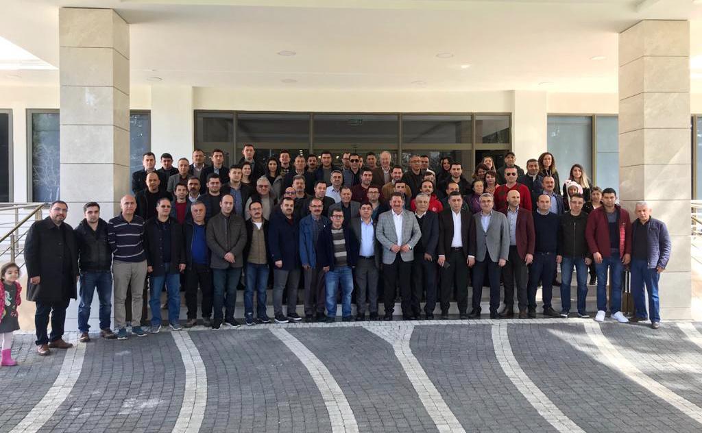 """Antalya Şube """"Geleneksel Kahvaltı ve İstişare Toplantısı"""" Düzenledi"""