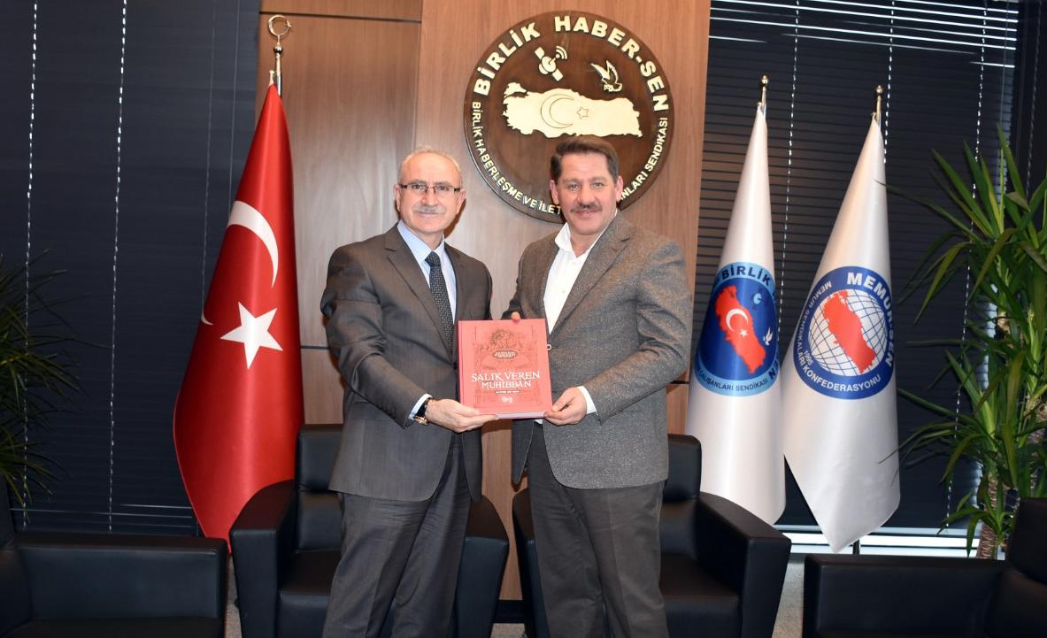 Basın İlan Kurumu Ankara Şube Müdürü Uğurlu' dan Birlik Haber-Sen' e Ziyaret