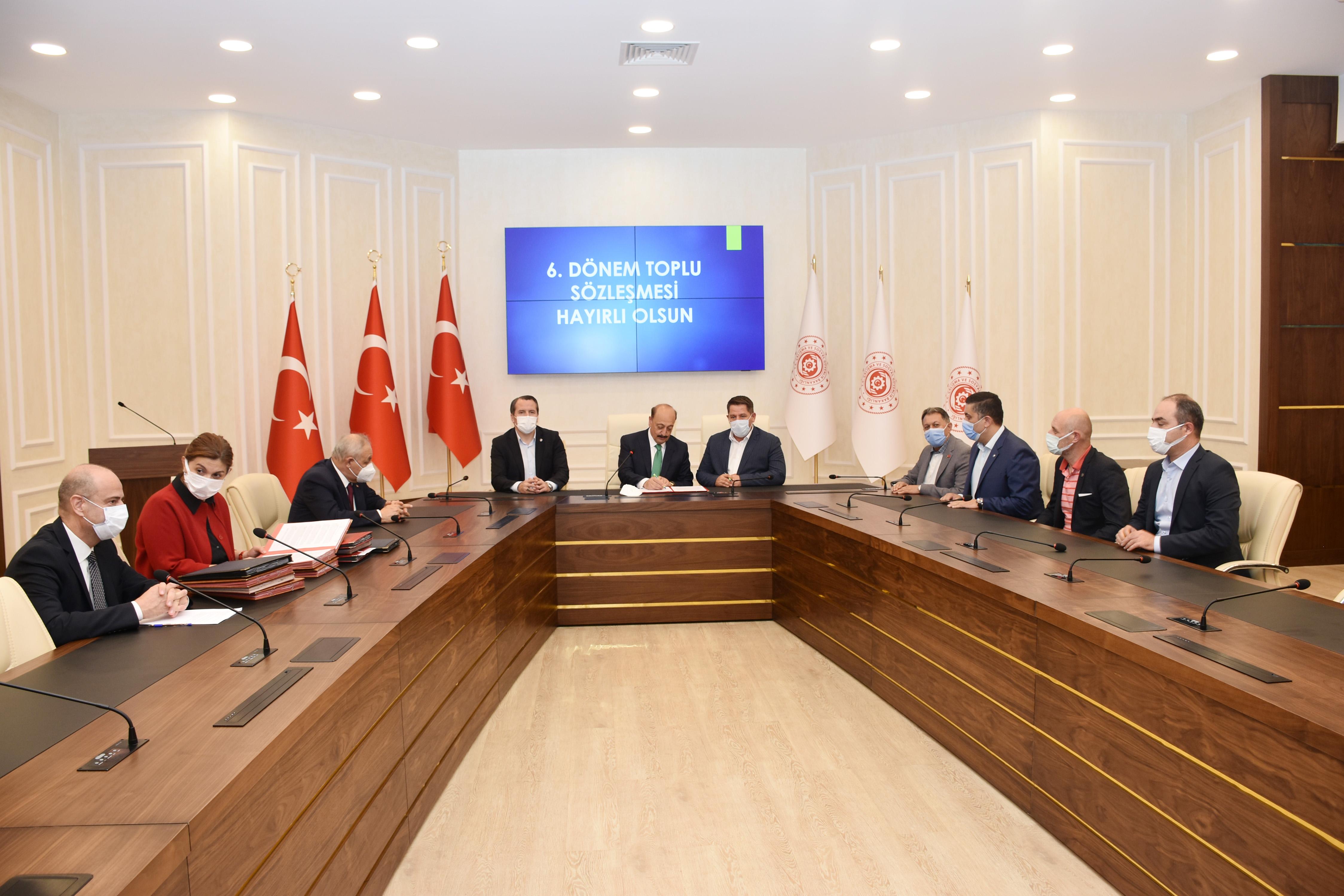Basın, Yayın ve İletişim Hizmet Kolunda Toplu Sözleşme İmzalandı