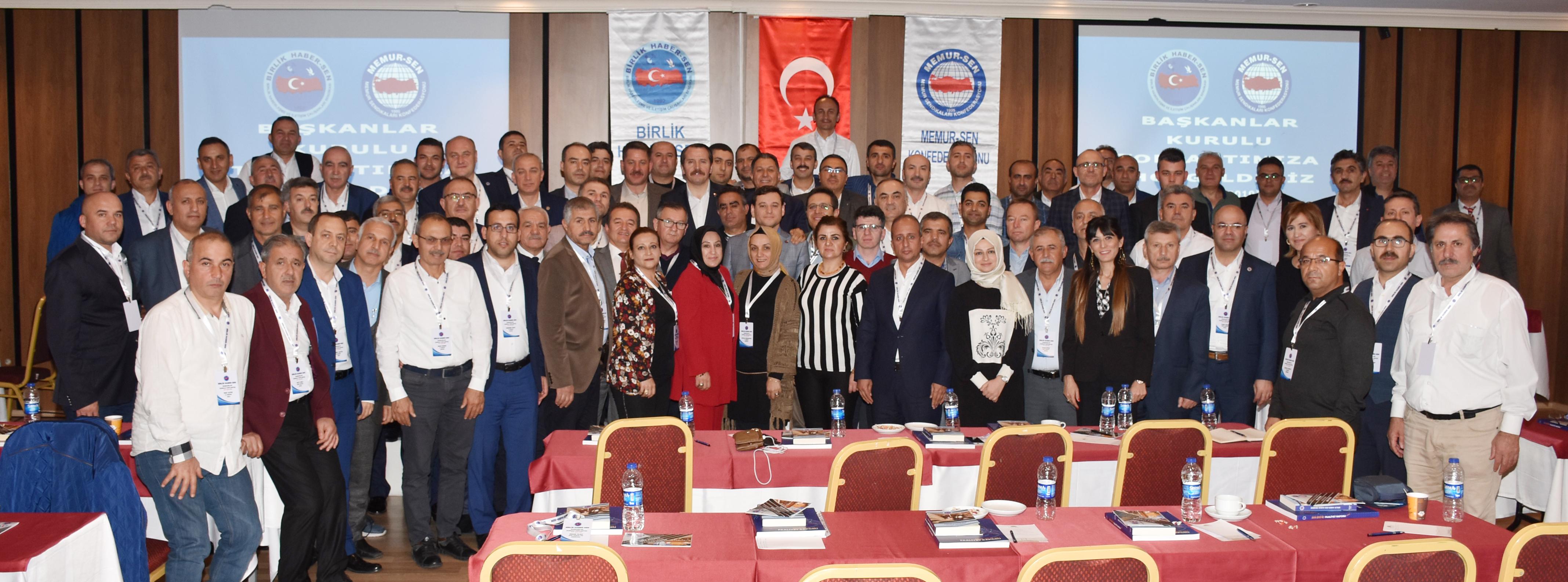 Başkanlar Kurulu Toplantımız Ankara'da Gerçekleşti