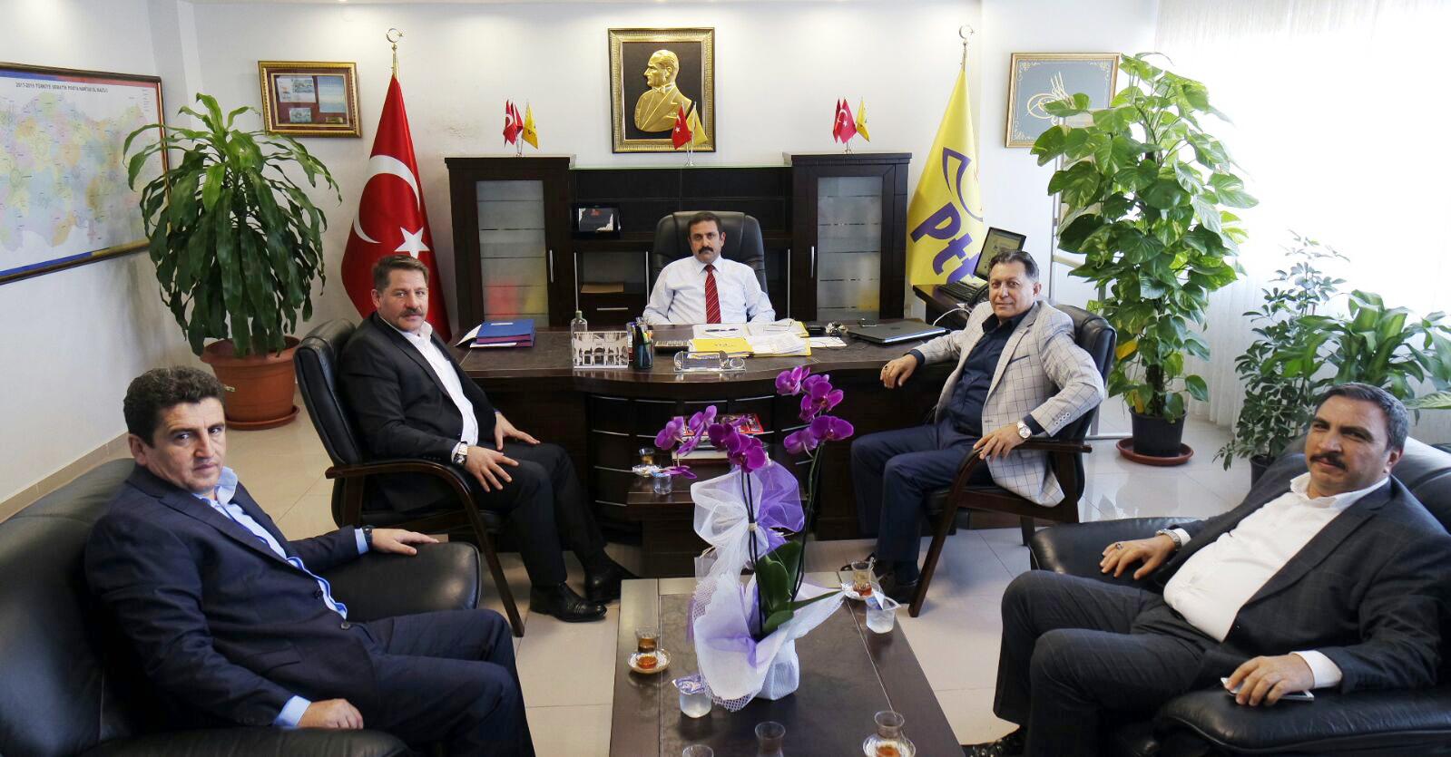 Başkanlarımız Adana Teşkilatımızı Ziyaret Ettiler