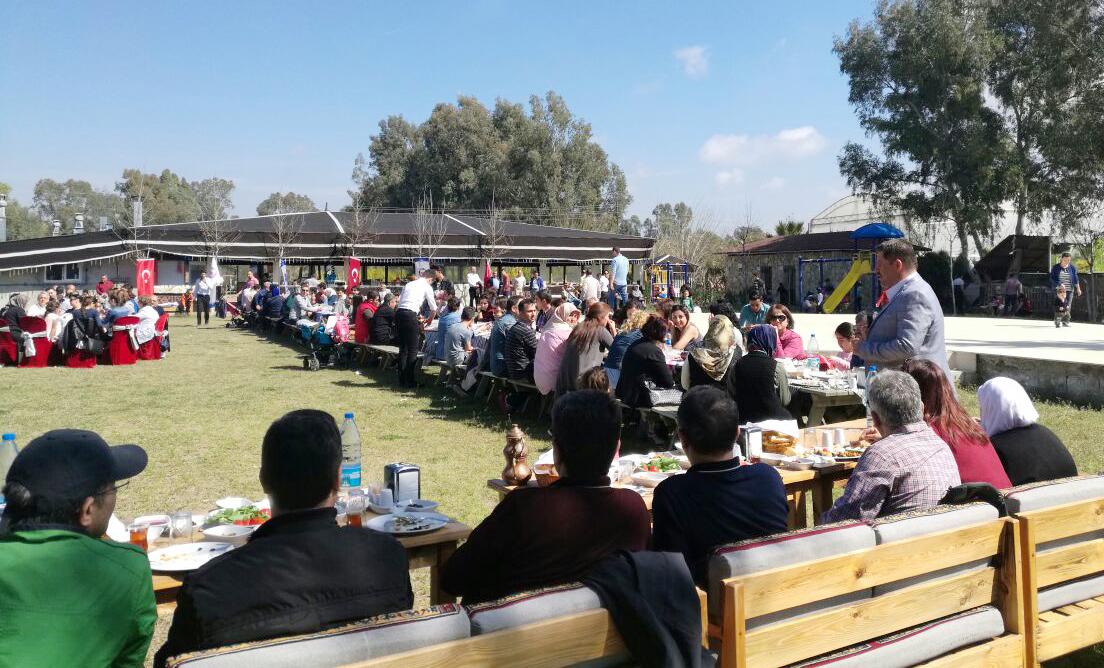 Başkanlarımız Antalya Şubemizin Düzenlediği Piknikte Üyelerimizle Bir Araya Geldiler