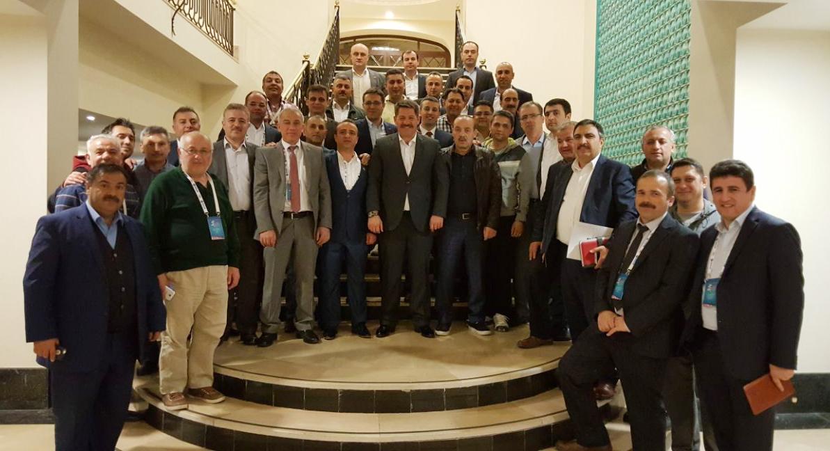 Başkanlarımız Antalya'da Biraraya Geldi
