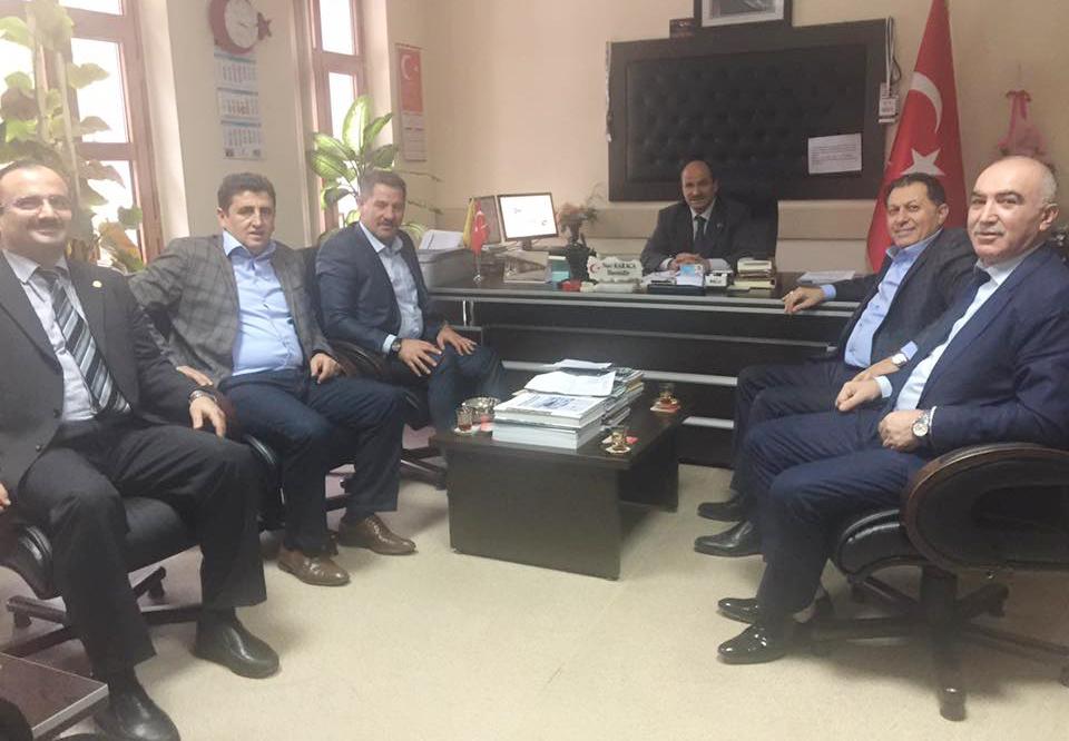 Başkanlarımız Çankırı Teşkilatımızı Ziyaret Etti