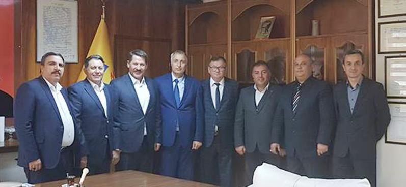 Başkanlarımız Eskişehir Teşkilatımızı Ziyaret Ettiler