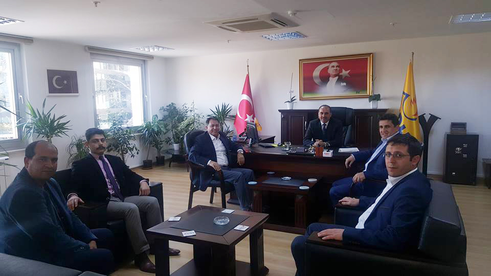 Başkanlarımız İstanbul Anadolu Yakası Teşkilatımızı Ziyaret Etti