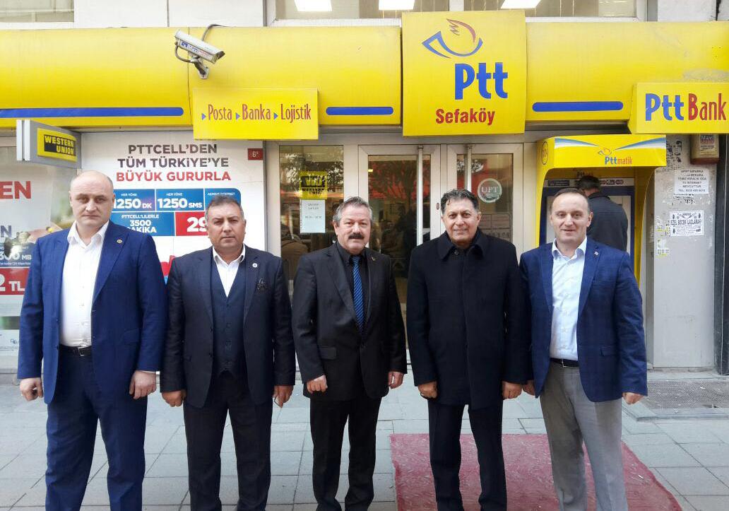 Başkanlarımız İstanbul Avrupa Yakası 15 No' lu Şubemizi Ziyaret Etti