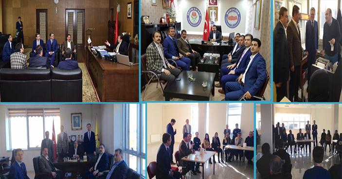 Başkanlarımız Kahramanmaraş'ta Birtakım Ziyaretlerde Bulundular