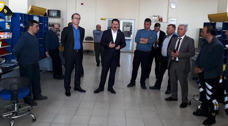 Başkanlarımız, Konya Teşkilatımızı Ziyaret Ettiler