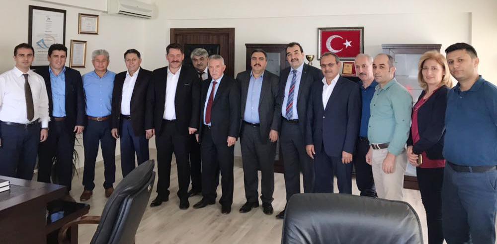 Başkanlarımız Mersin Teşkilatımızı Ziyaret Ettiler
