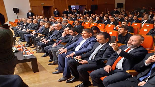 Başkanlarımız PTT A.Ş.'nin Kuruluşunun 179. Yılı Etkinliği Programına Katıldılar