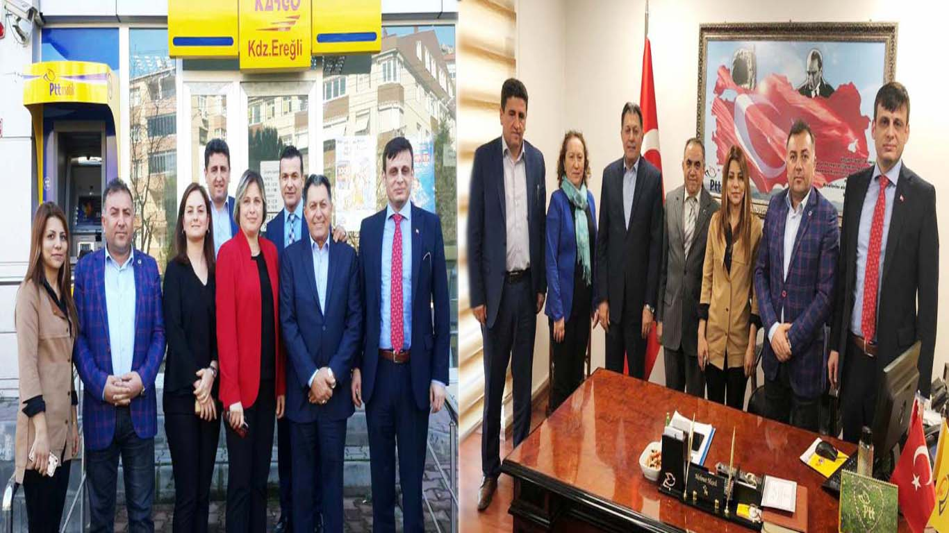 Başkanlarımız, Zonguldak Teşkilatımızı Ziyaret Ettiler
