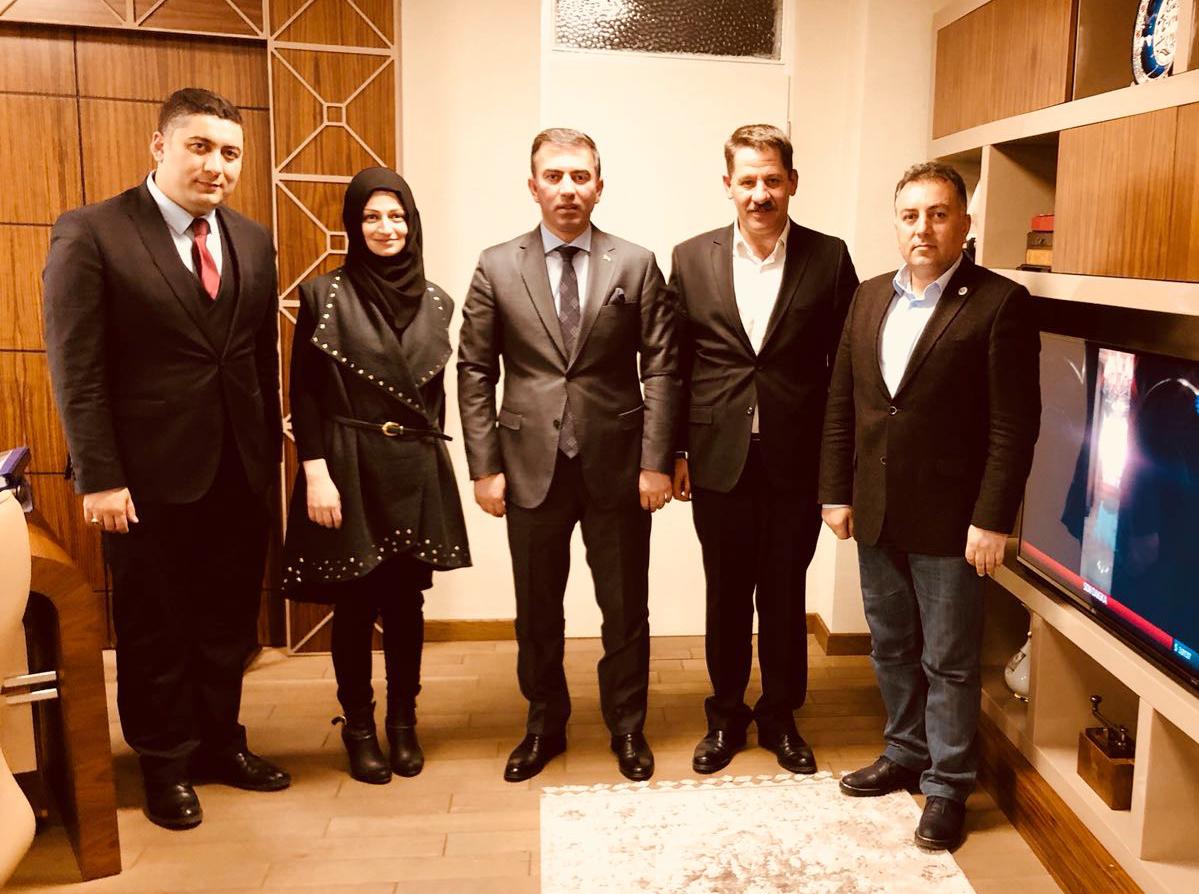 Başkanlarımızdan PTT A.Ş. Genel Müdür Yardımcısı Akbulat'a Ziyaret