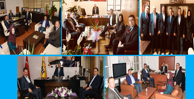 Başkanlarımızdan PTT A.Ş.'de Yeni Görevlerine Atanan Bürokratlara Hayırlı Olsun Ziyaretleri