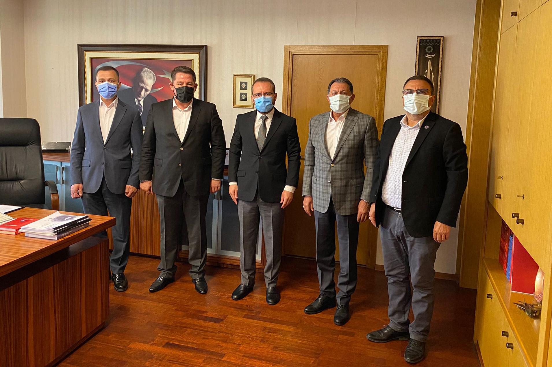 Birlik Haber-Sen Heyetinden TRT Genel Müdür Yardımcısı Urgun'a Ziyaret
