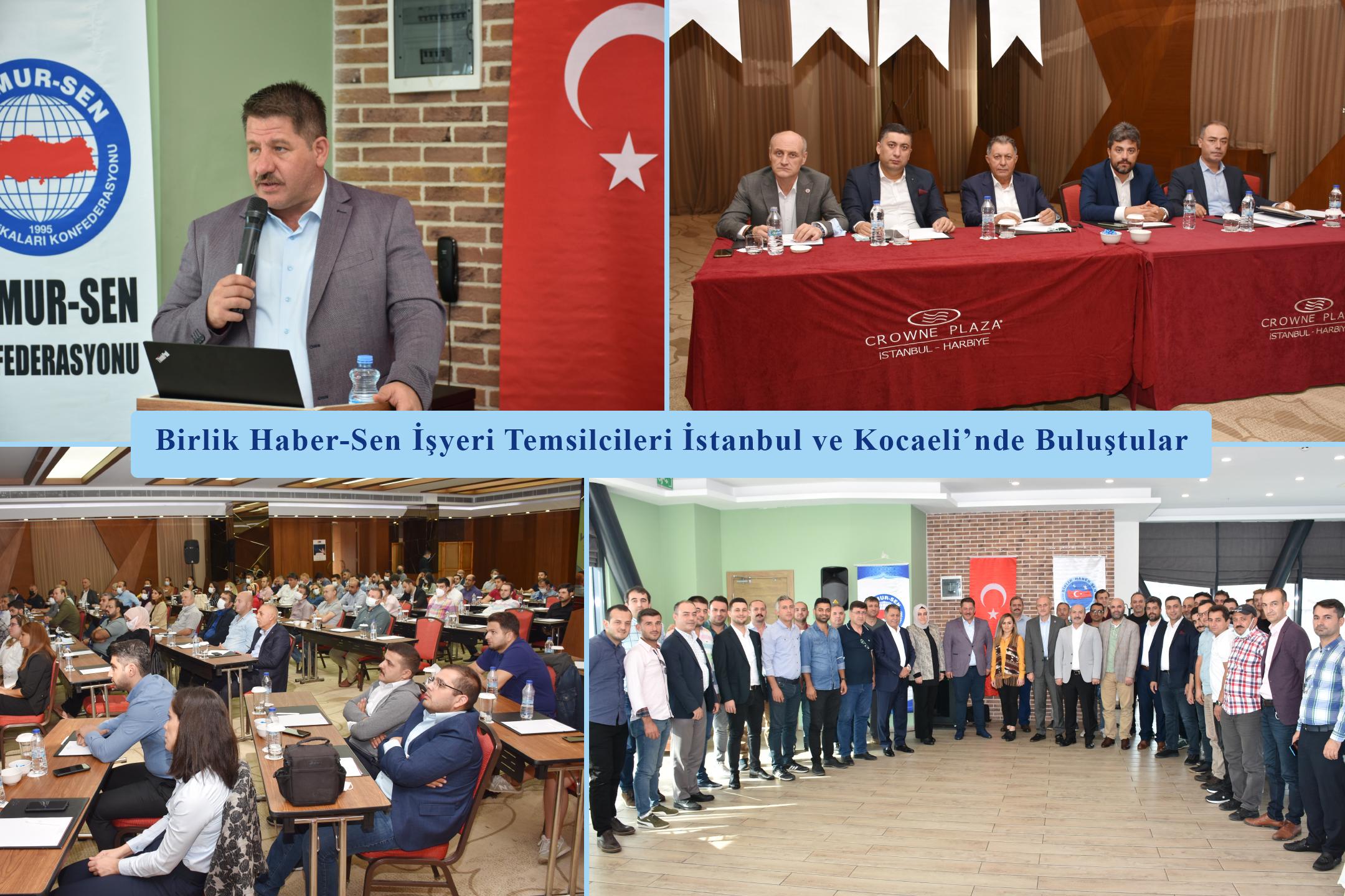 Birlik Haber-Sen İşyeri Temsilcileri İstanbul ve Kocaeli'nde Buluştular