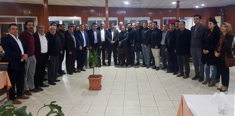 Birlik Haber-Sen Yönetim Kurulu, Hatay' da Üyelerin Sorunlarını Dinlediler