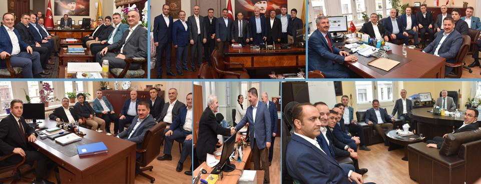 Birlik Haber-Sen Yönetim Kurulu Üyeleri İstanbul' da Bir Takım Ziyaretlerde Bulundular