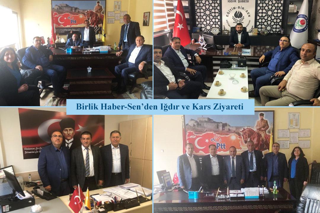 Birlik Haber-Sen'den Iğdır ve Kars Ziyareti