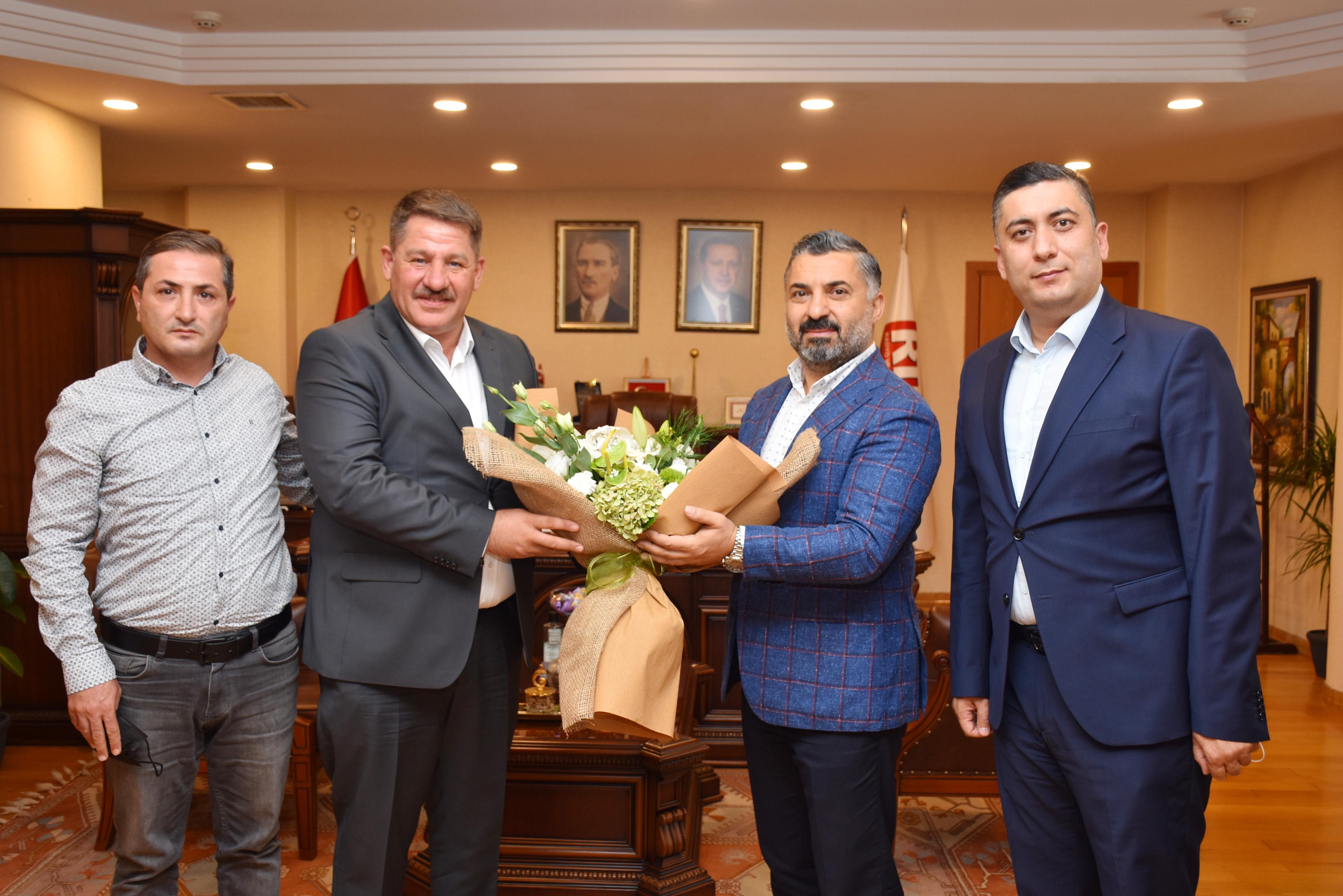 Birlik Haber-Sen'den RTÜK Başkanı Şahin'e Ziyaret