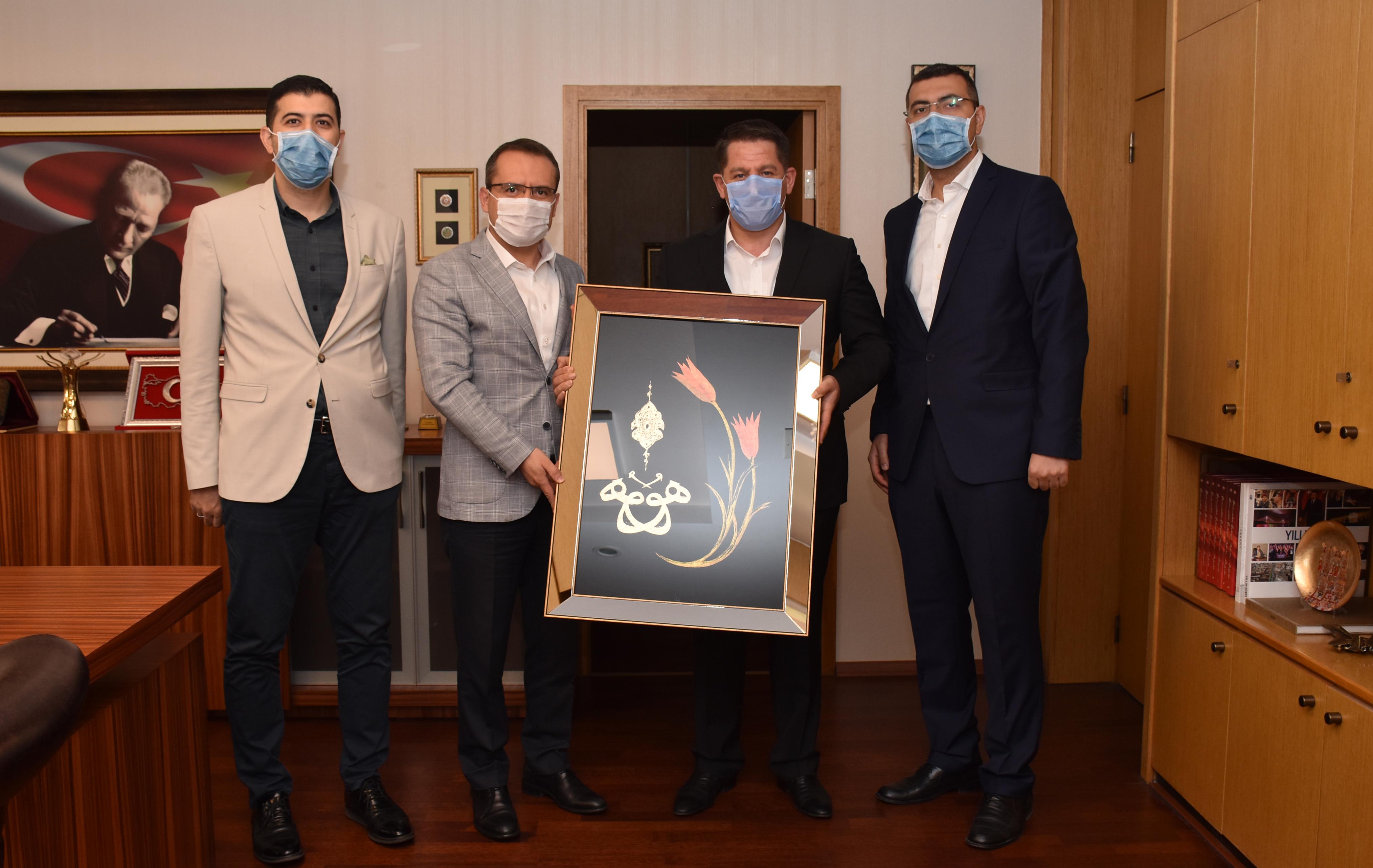 Birlik Haber-Sen'den TRT Genel Müdür Yardımcısı Osman Urgun'a Teşekkür Ziyareti