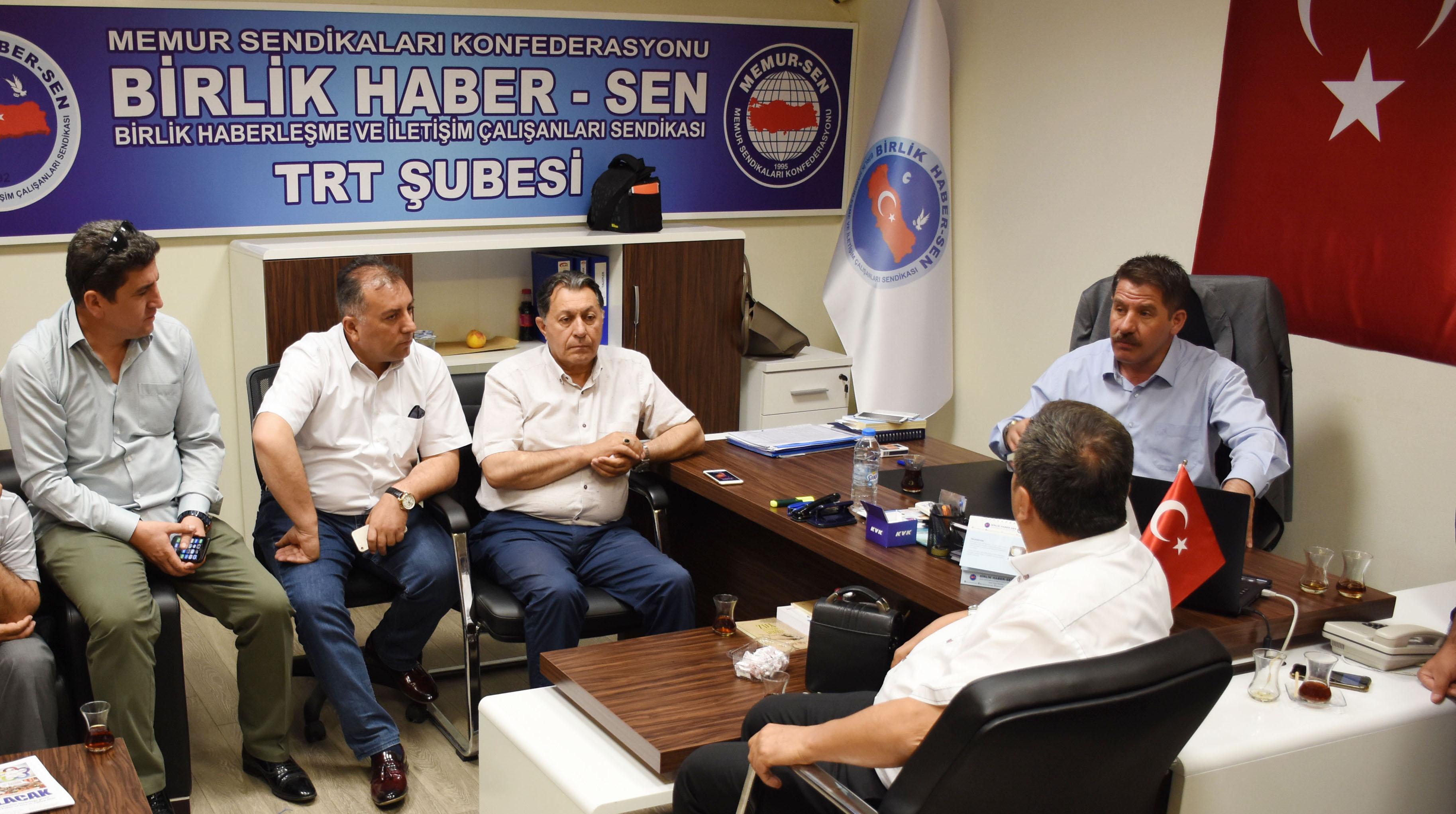 Birlik Haber-Sen'den TRT Personeli ile Durum Değerlendirmesi