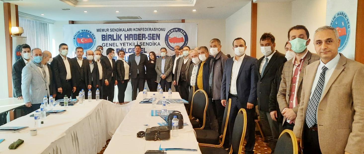 Bölgesel Başkanları Kurulu Toplantıları Diyarbakır'da Devam Etti