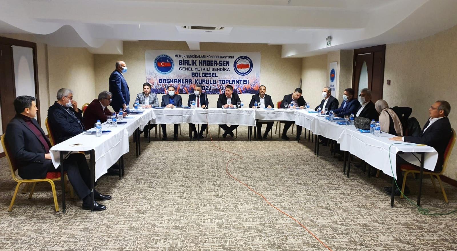 Bölgesel Başkanları Kurulu Toplantıları Hatay'da Gerçekleştirildi