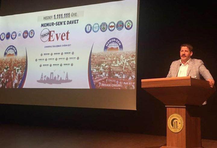 Budak: Türkiye'nin En Büyük Emek Hareketiyiz