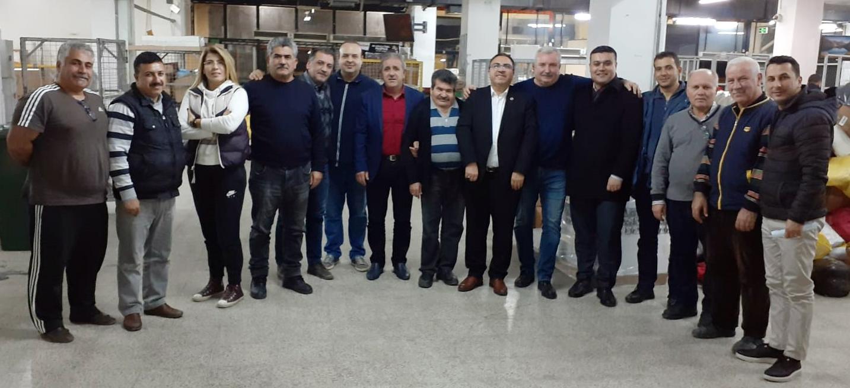 Burgaç, Birlik Haber – Sen Adana Teşkilatını Ziyaret Etti