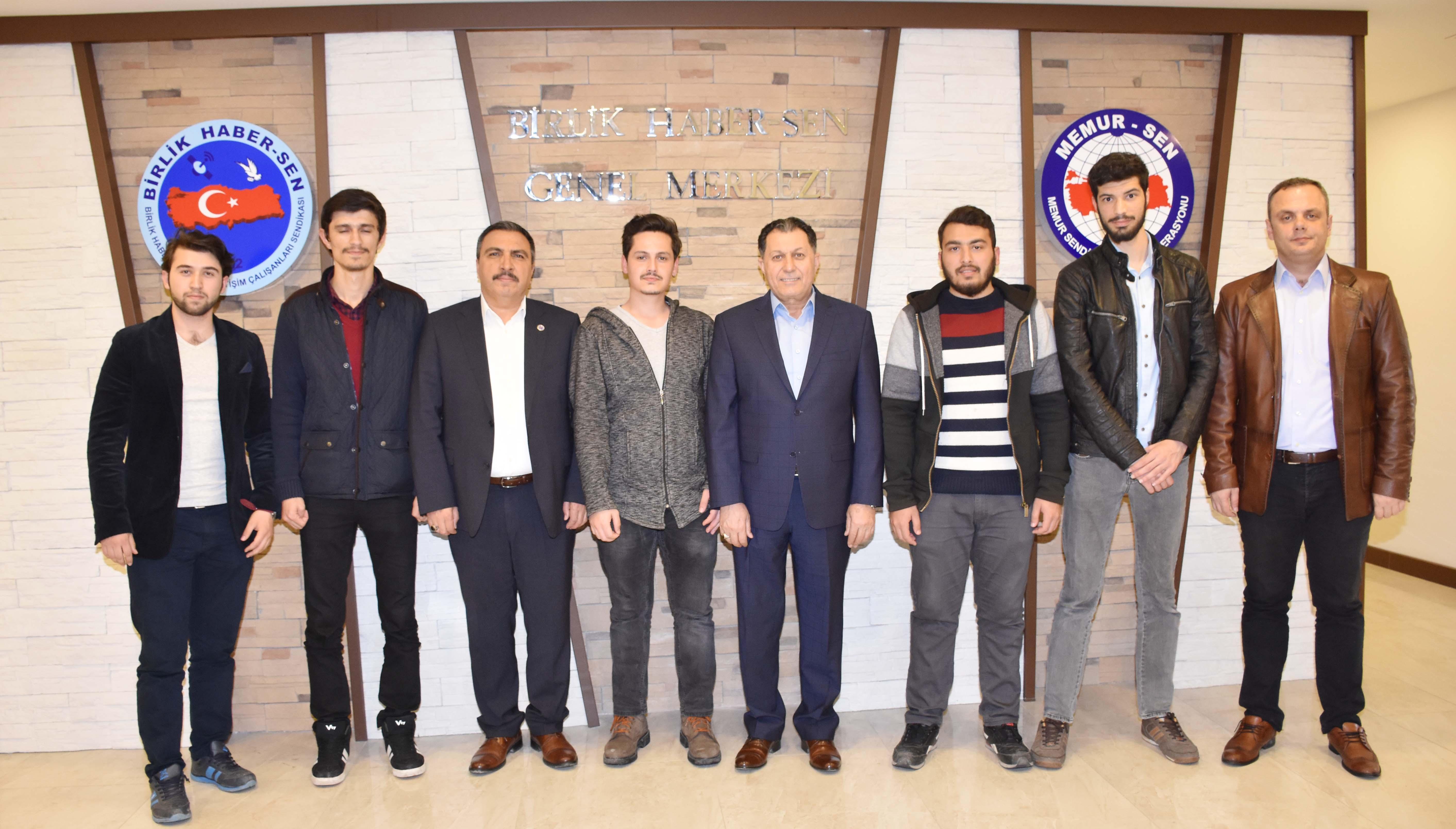Burgaç, Sendikamızı Sakarya Üniversitesi Öğrencilerine Anlattı