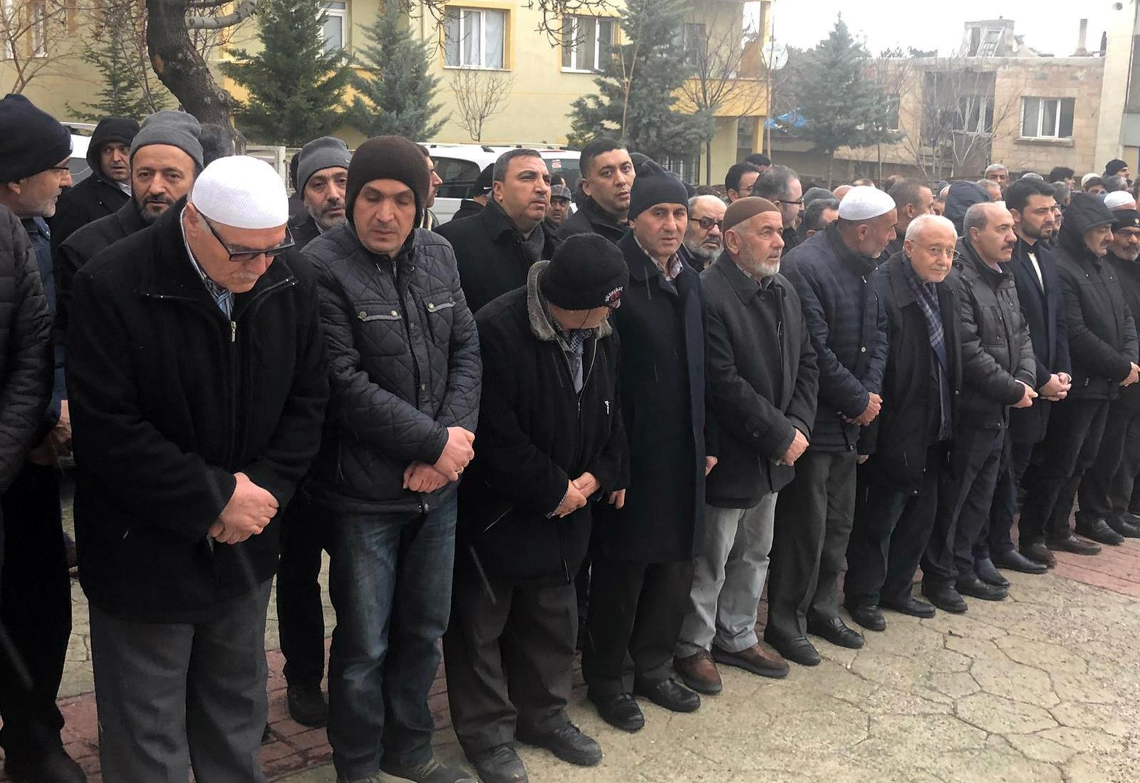 Burgaç ve Akpınar, Birlik Haber - Sen Nevşehir İl Başkanı Gümüş' ün Acı Gününde Yanında Oldular