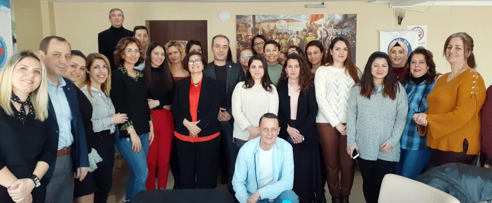 Erdem, İzmir Şube Kadınlar Komisyonun Düzenlediği Toplantıya Katıldı
