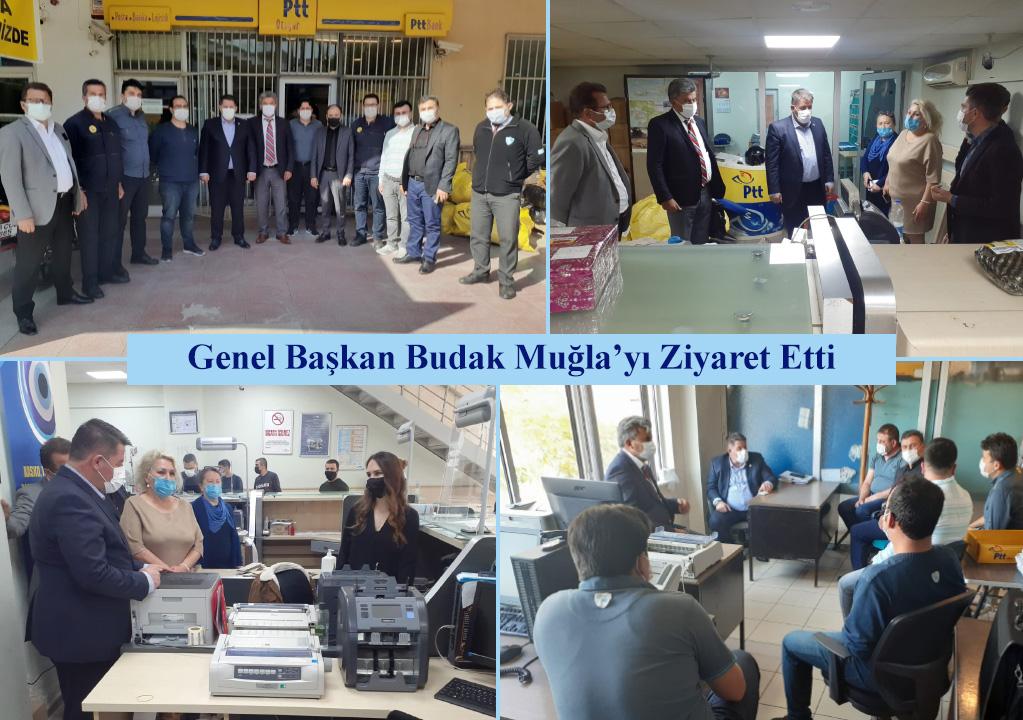 Genel Başkan Budak Muğla'yı Ziyaret Etti