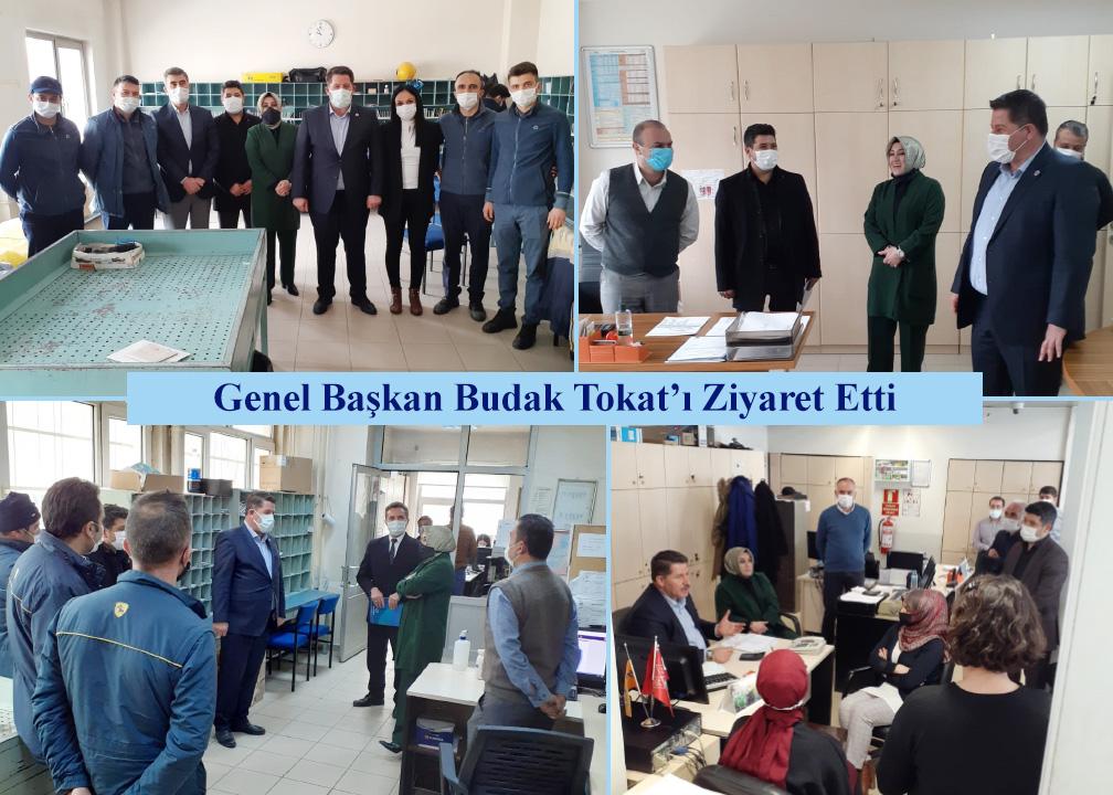 Genel Başkan Budak Tokat'ı Ziyaret Etti