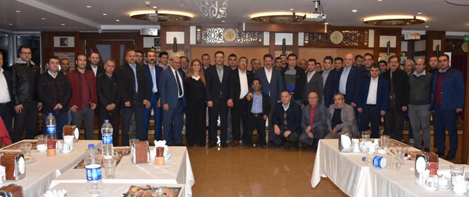Genel Başkan Budak ve Beraberindeki Heyet İstanbul Anadolu Yakasında Bir Takım Ziyaretlerde Bulundular