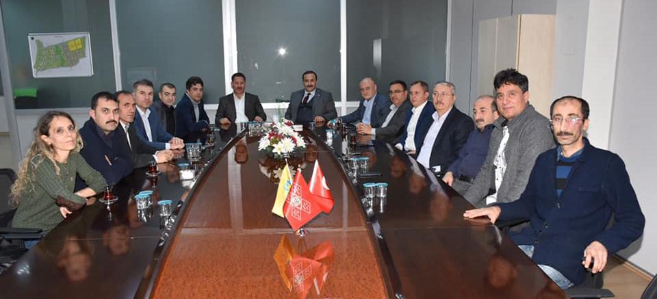 Genel Başkan Budak ve Beraberindeki Heyet İstanbul Avrupa Yakasında Bir Takım Ziyaretlerde Bulundular