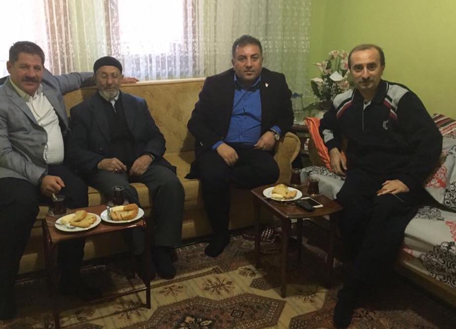 Genel Başkan Budak'tan Kırıkkale İl Başkanımız Aydın'a Ziyaret