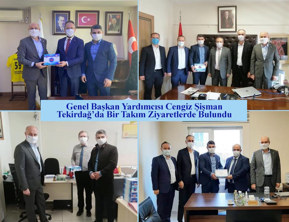 Genel Başkan Yardımcısı Cengiz Şişman, Tekirdağ'da Bir Takım Ziyaretlerde Bulundu