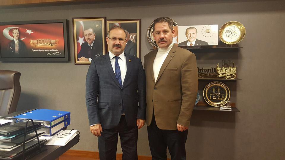 Genel Başkanımız Budak, AK Parti Milletvekili Deligöz'ü Ziyaret Etti