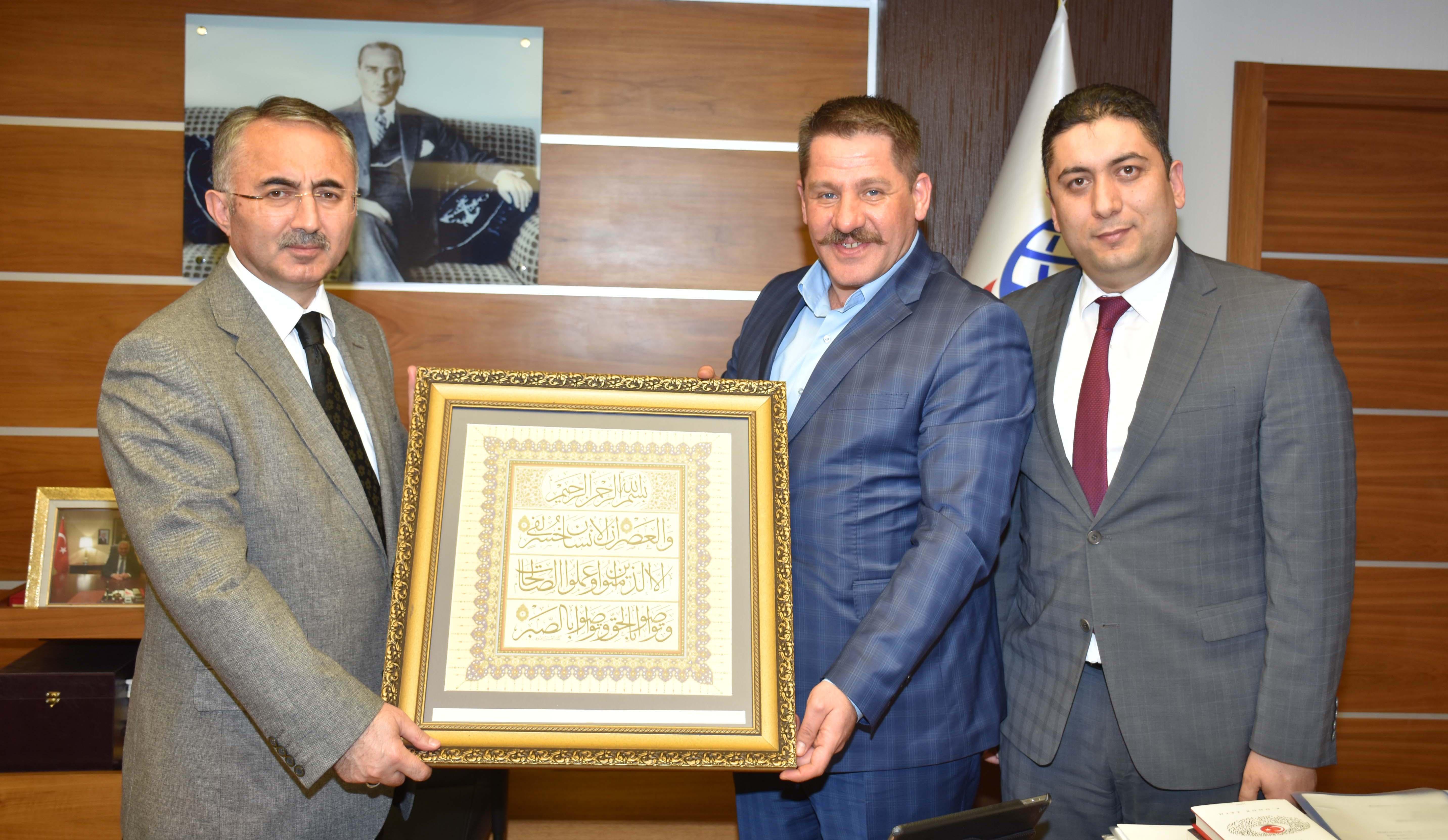 Genel Başkanımız Budak, Bakan Yardımcısı Coşkunyürek' i Ziyaret Etti