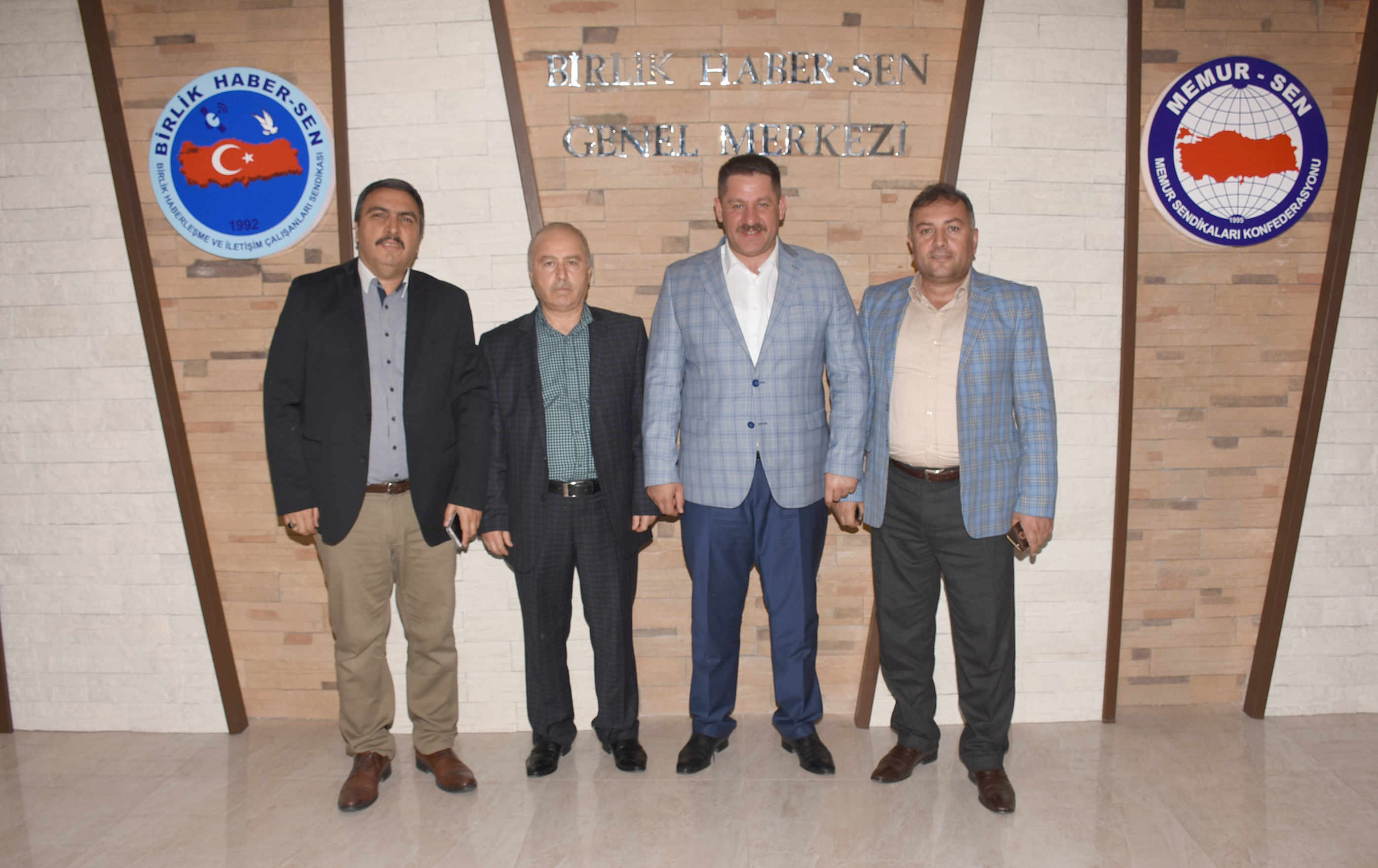 Hatay PTT A.Ş. Başmüdürü Yüksel'den Sendikamıza Ziyaret