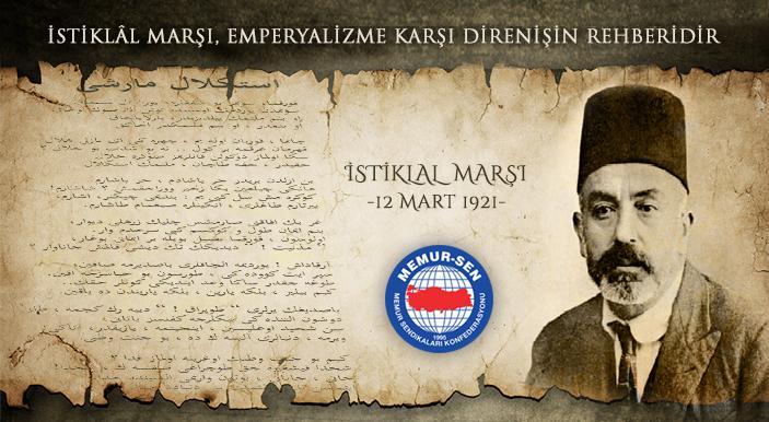 İstiklal Marşı, Emperyalizme Karşı Direnişin Rehberidir