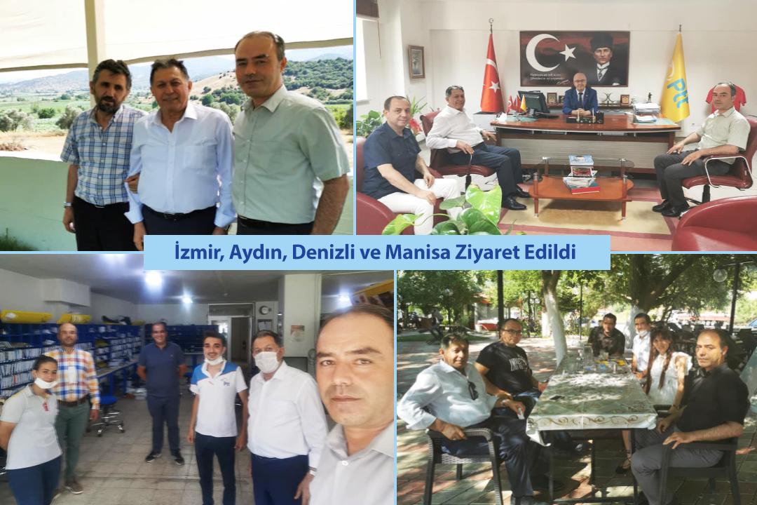 İzmir, Aydın, Denizli ve Manisa Ziyaret Edildi