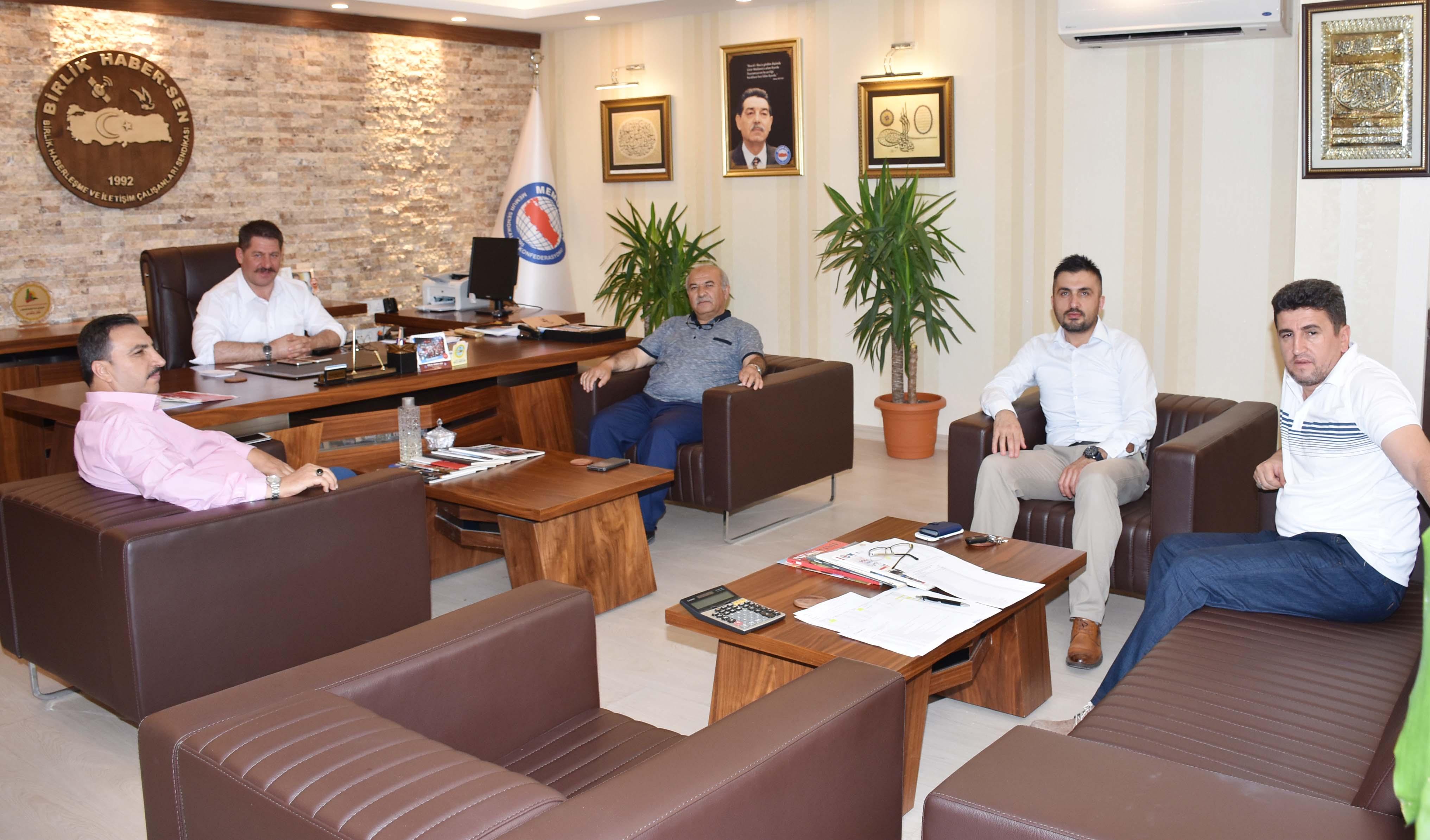Memur-Sen Ankara İl Başkanı Kır 'dan Sendikamıza Ziyaret