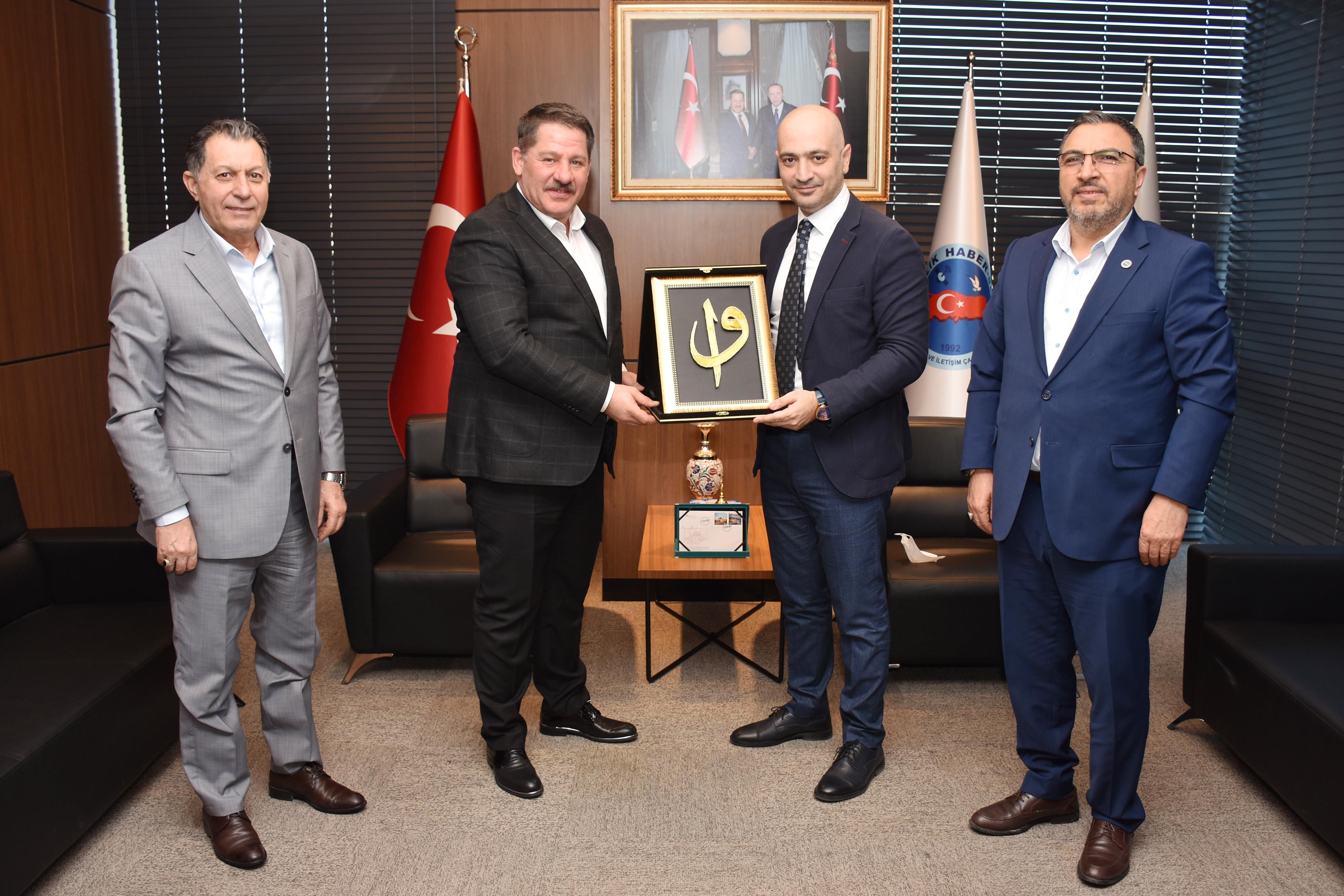 PTT A.Ş. Genel Müdür Yardımcısı Ragıp İmamoğlu'ndan Birlik Haber-Sen'e Ziyaret