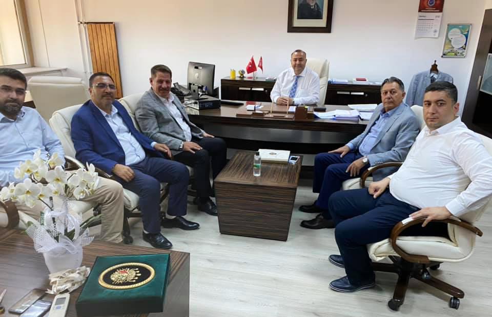 PTT A.Ş. Muhasebe ve Finans Başkanı Temel Bal'a Hayırlı Olsun Ziyareti